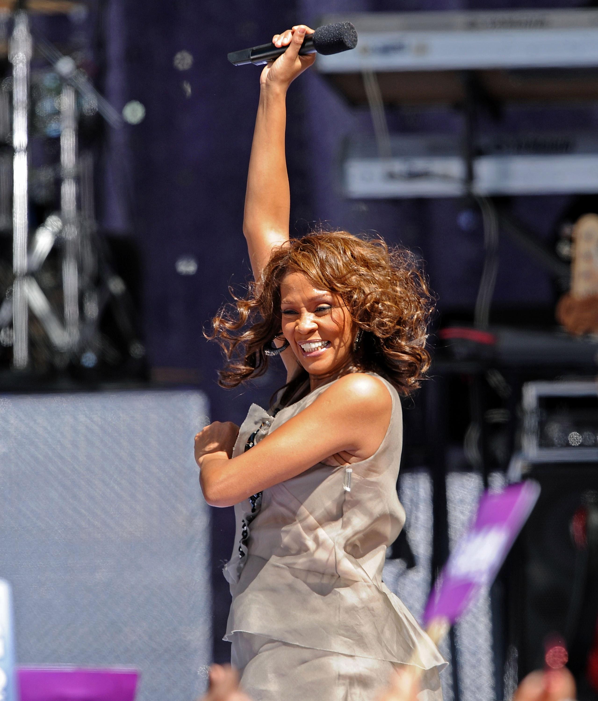 Whitney Houston Rocks 'Good Morning America'