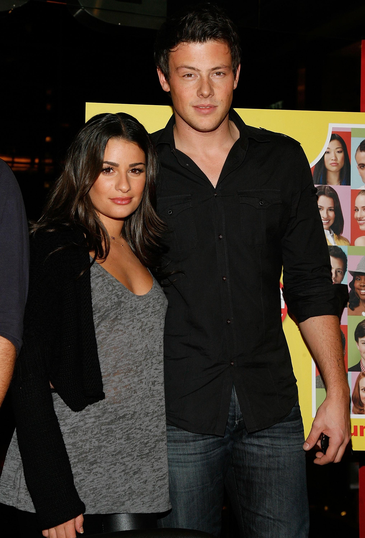 Cory Monteith og Lea Michele hvor lenge dating Gratis dating nettsteder for kjærlighet