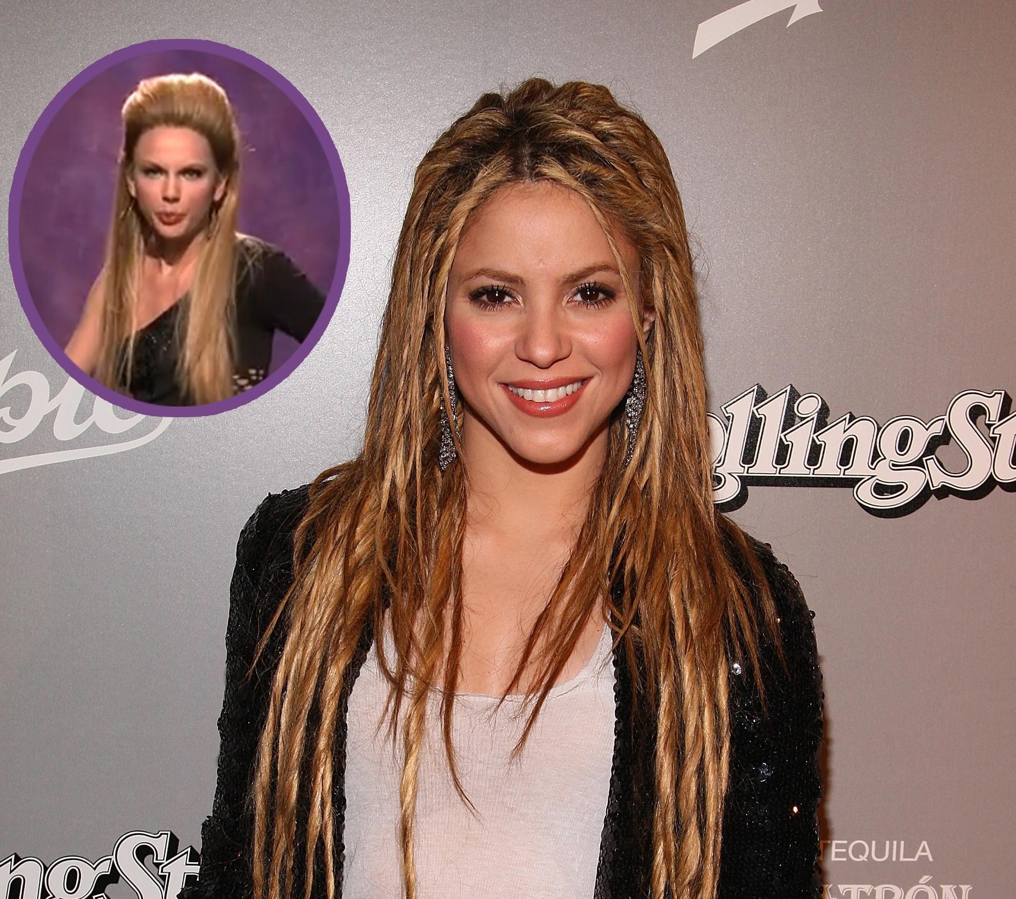 Shakira On Taylor Swift S Snl Impression I Feel Flattered Access Online