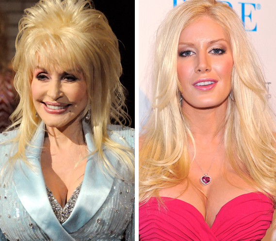 Celebrities With Plastic Surgery Heidi Montag Courteney: Dolly Parton Weighs In On Heidi Montag's Plastic Surgery
