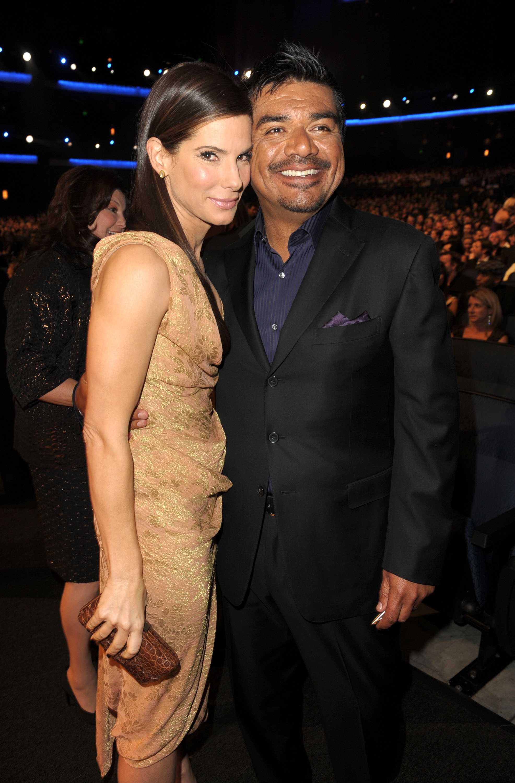 George Lopez On Sandra Bullock's Adoption: 'I'm Happy To Be