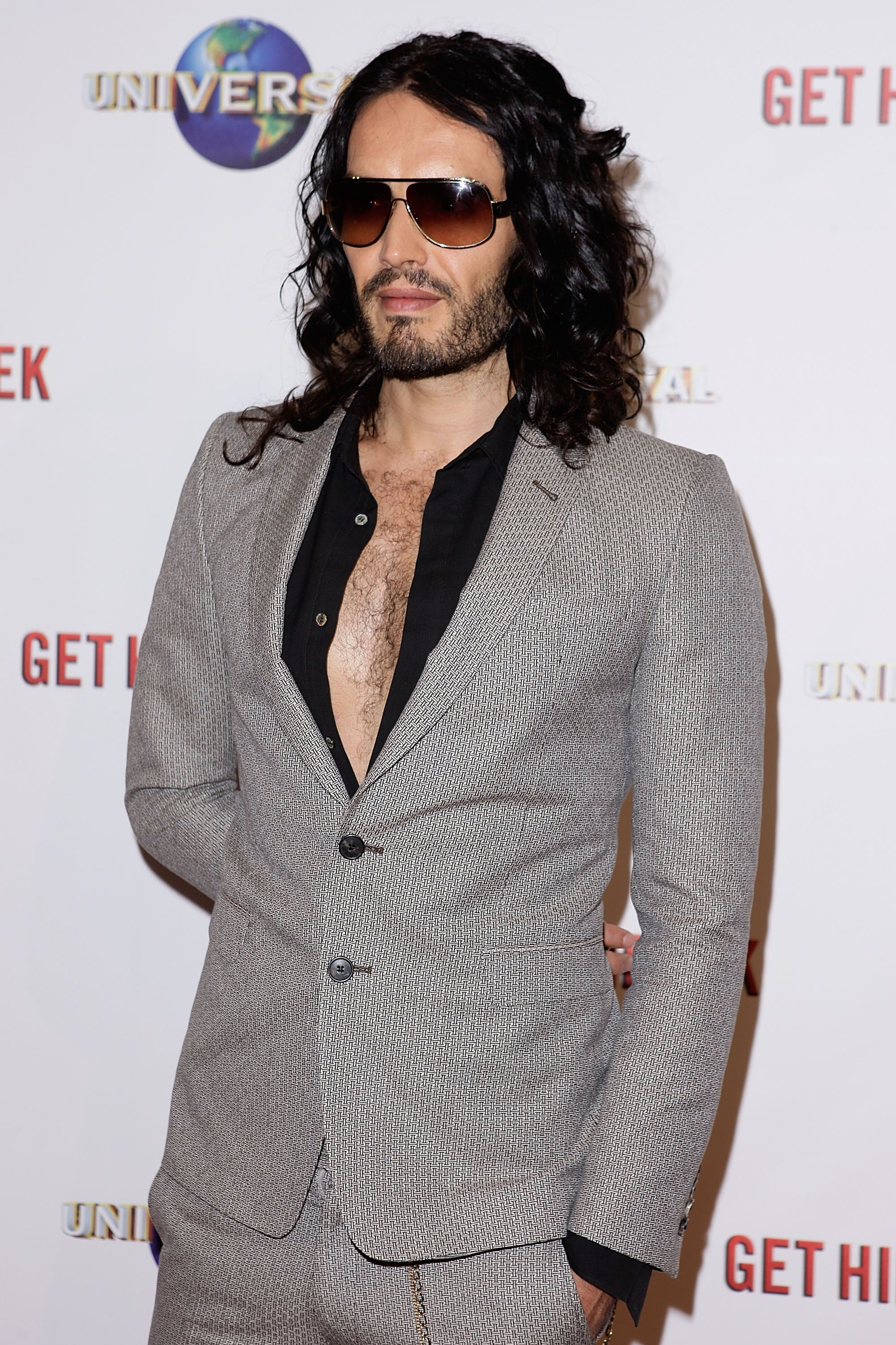 Russell Brand On Life With Katy Perry: 'I Stay Out Of