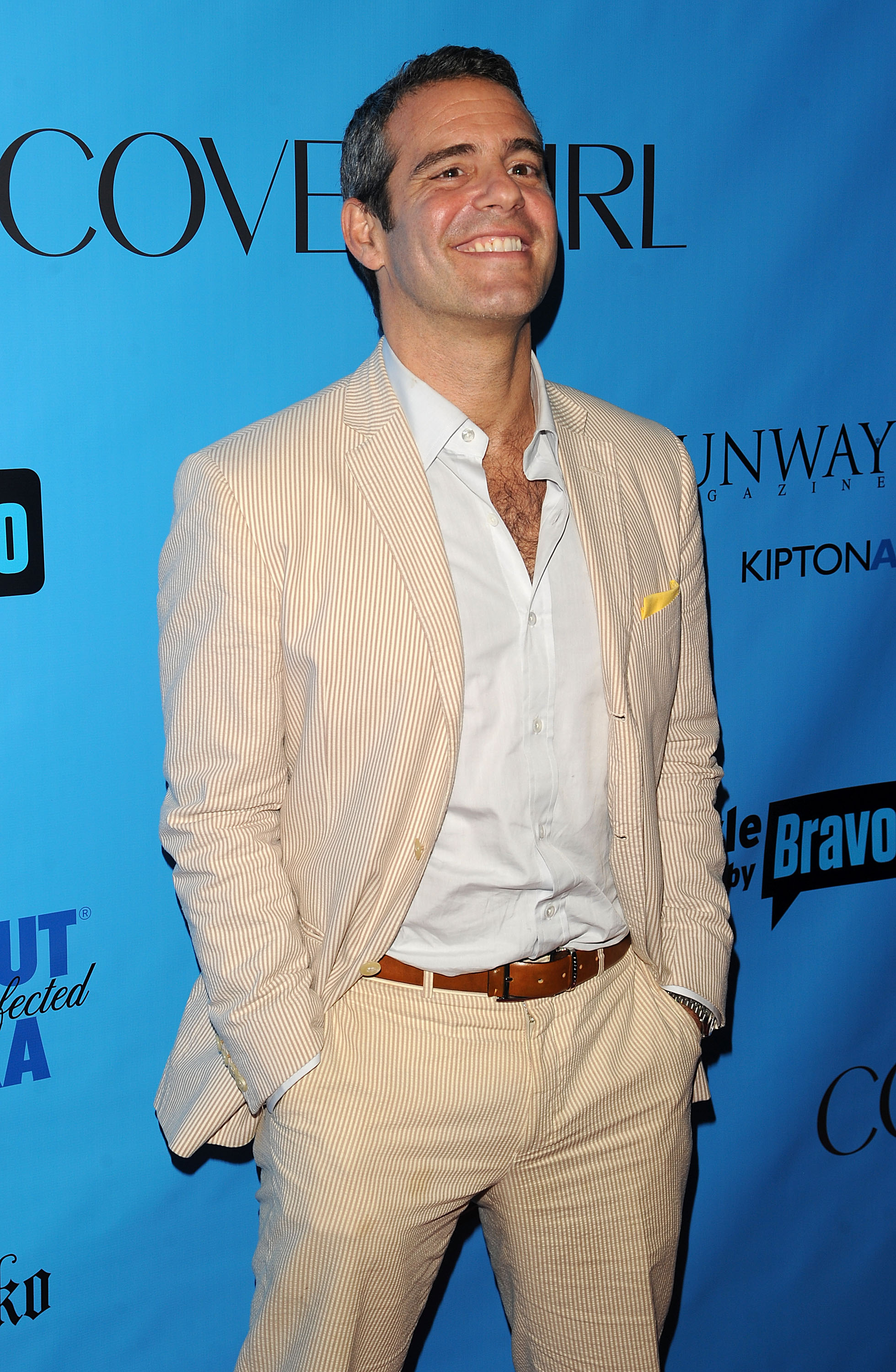 """Andy-Cohen-attends-the-ICONS-Exhibition-To-celebrate-Bravo's-""""Double-Exposure""""-at-The-Angel-Orensanz-Foundation-NYC-June-16-2010"""