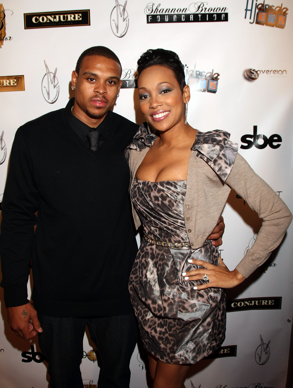 R&B Singer Monica Marries LA Laker Shannon Brown For The