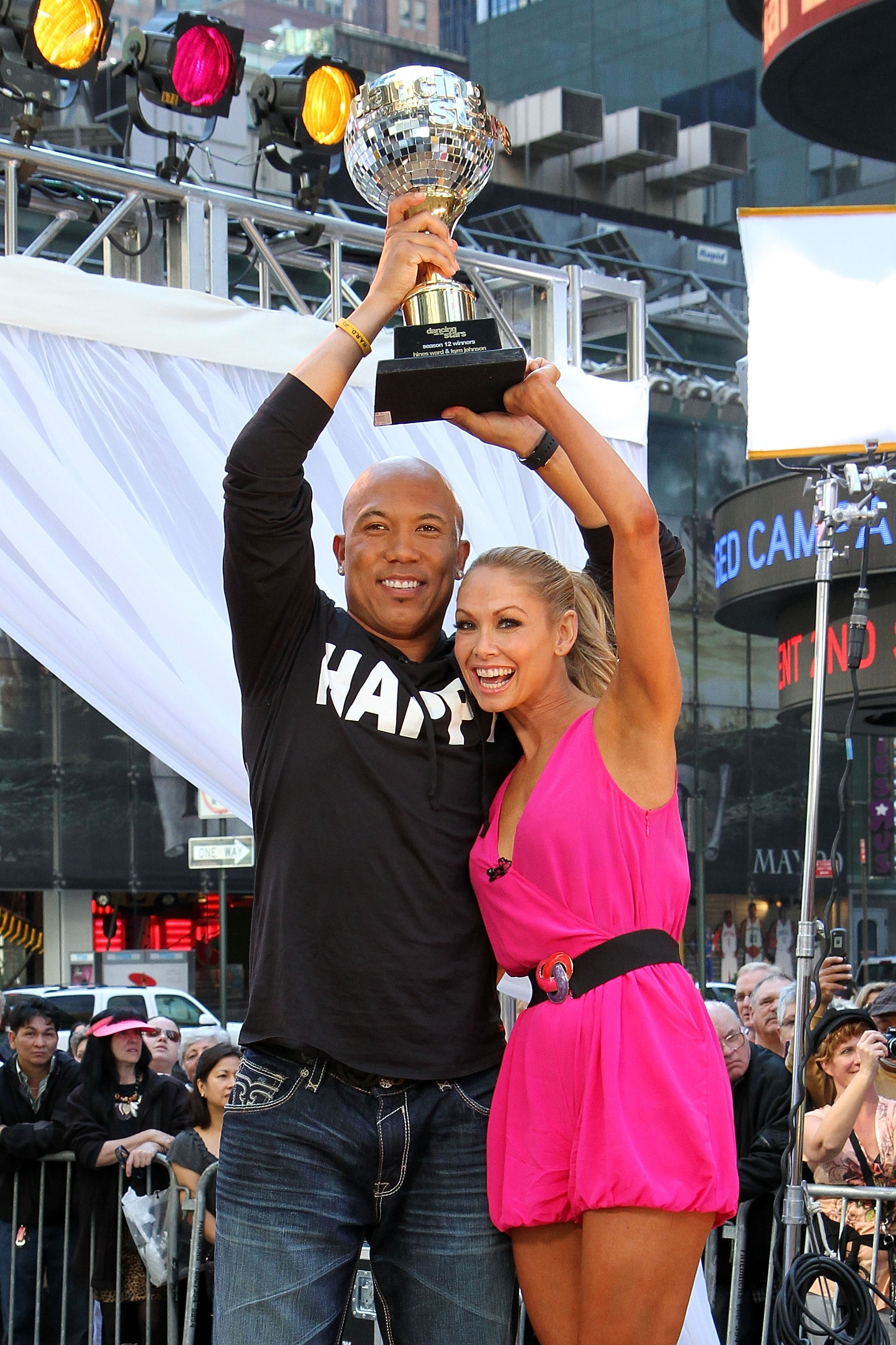 Hines Ward 'Just Ecstatic' Over 'Dancing With The Stars' Win