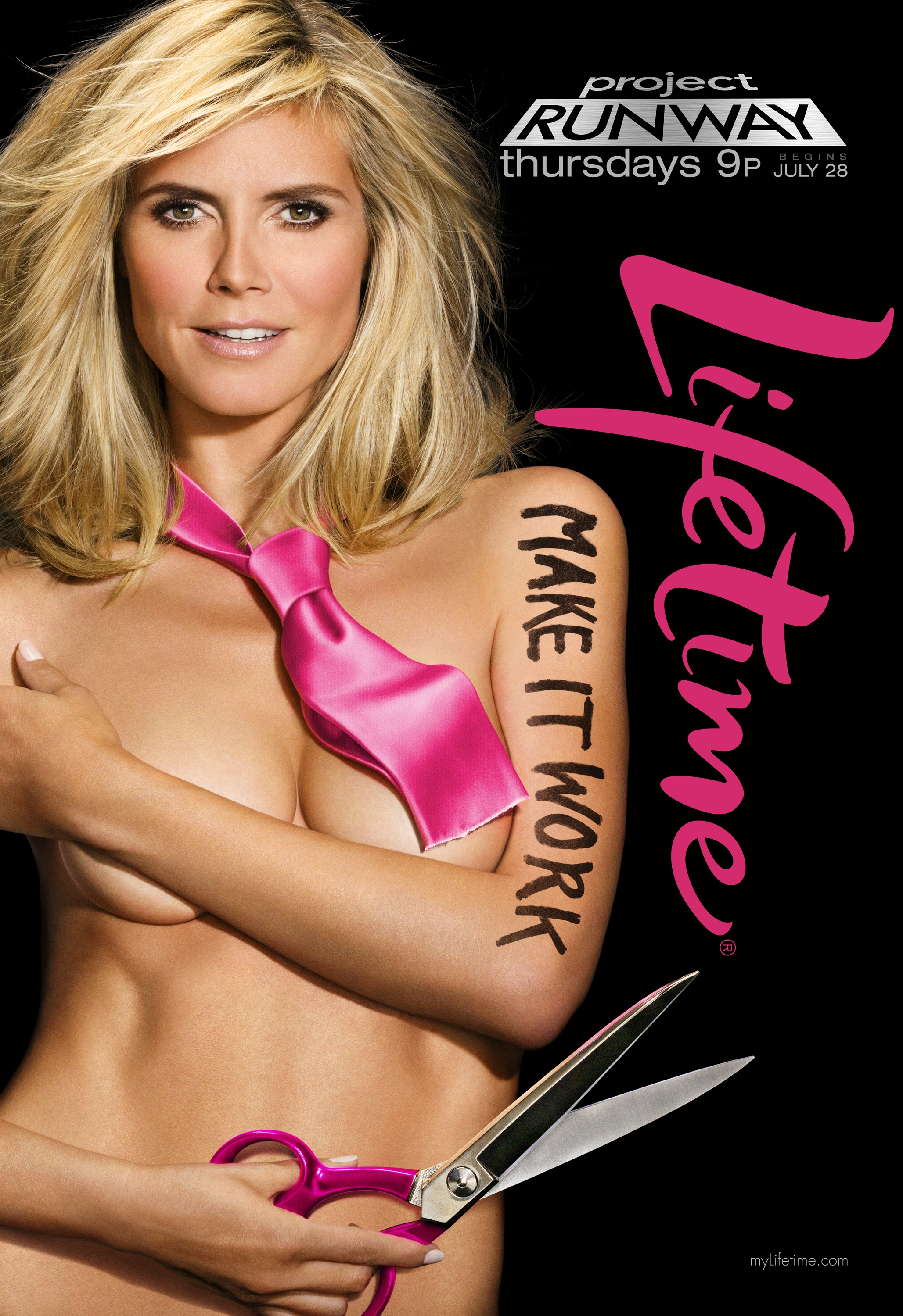 Heidi Klum poses nude in ad campaign for the upcoming
