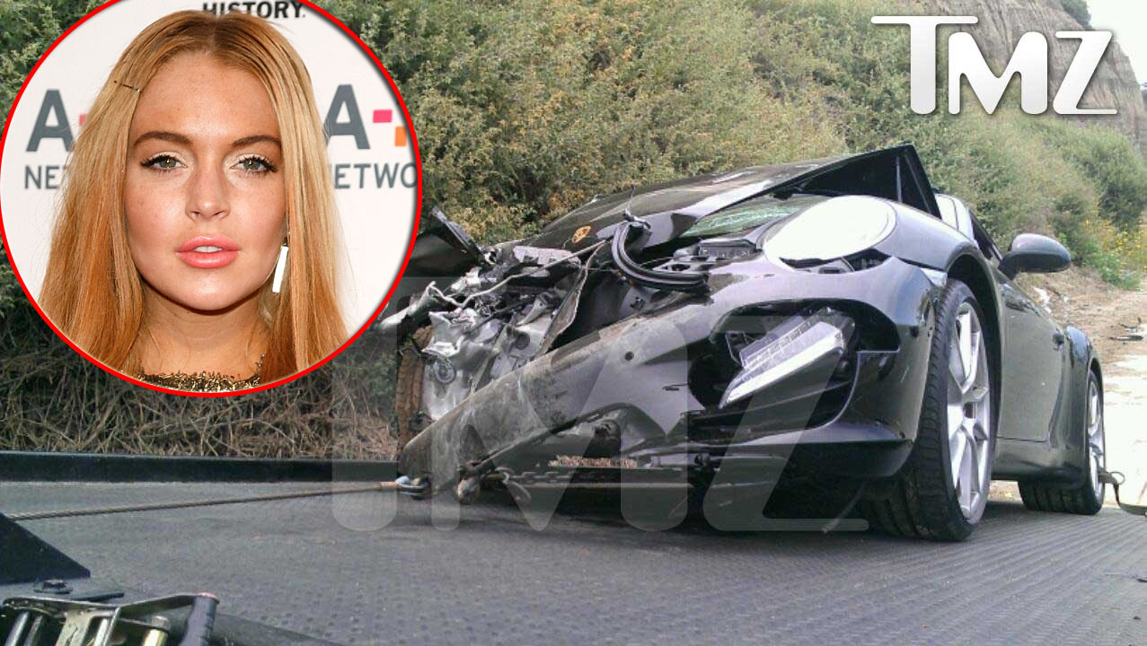 Rep Lindsay Lohan Released From Hospital Following Car Accident Access Online