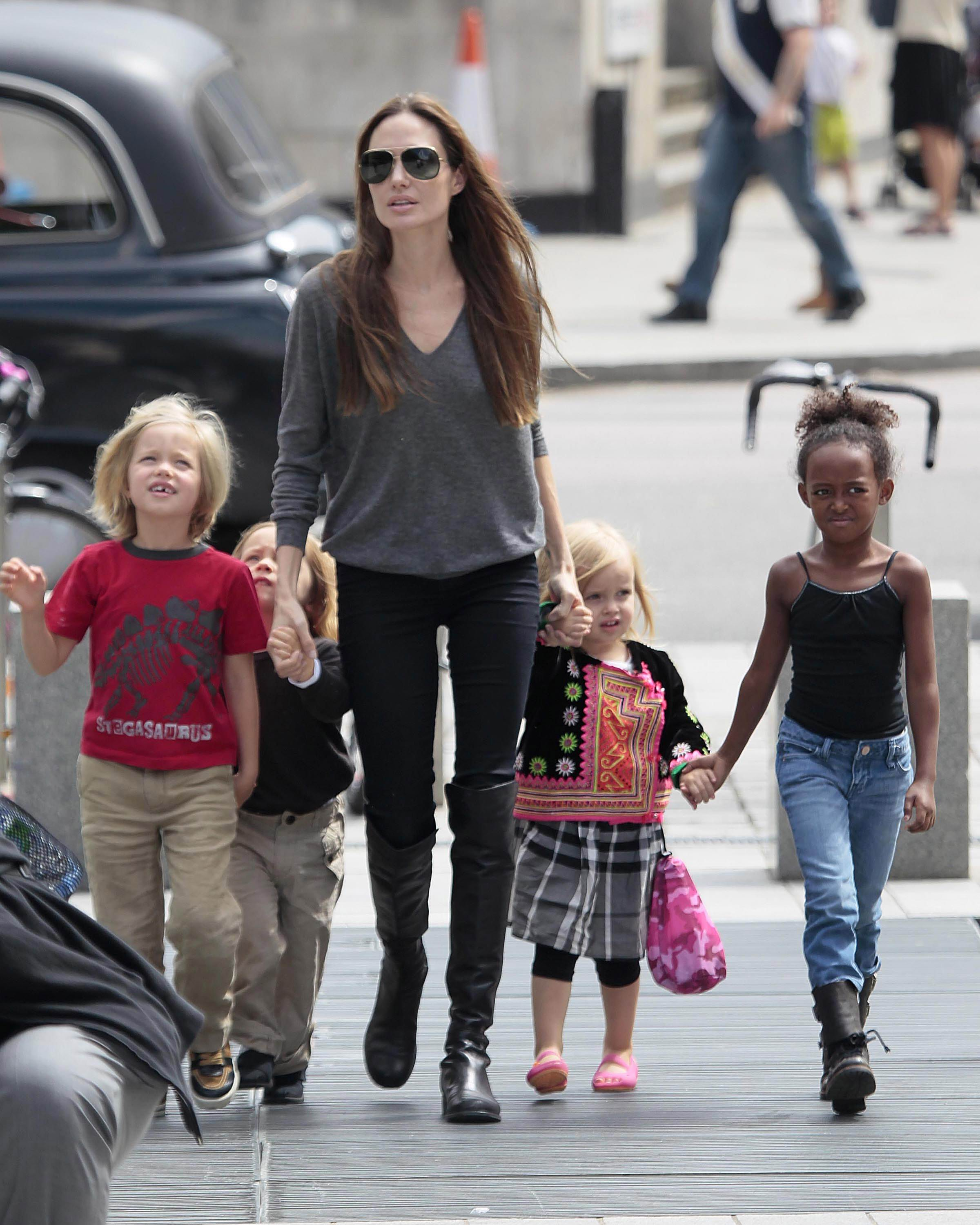 Angelina Jolie To Retire When Her Kids Become Teenagers