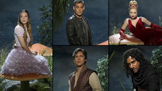 Meet the characters: Once Upon A Time in Wonderland