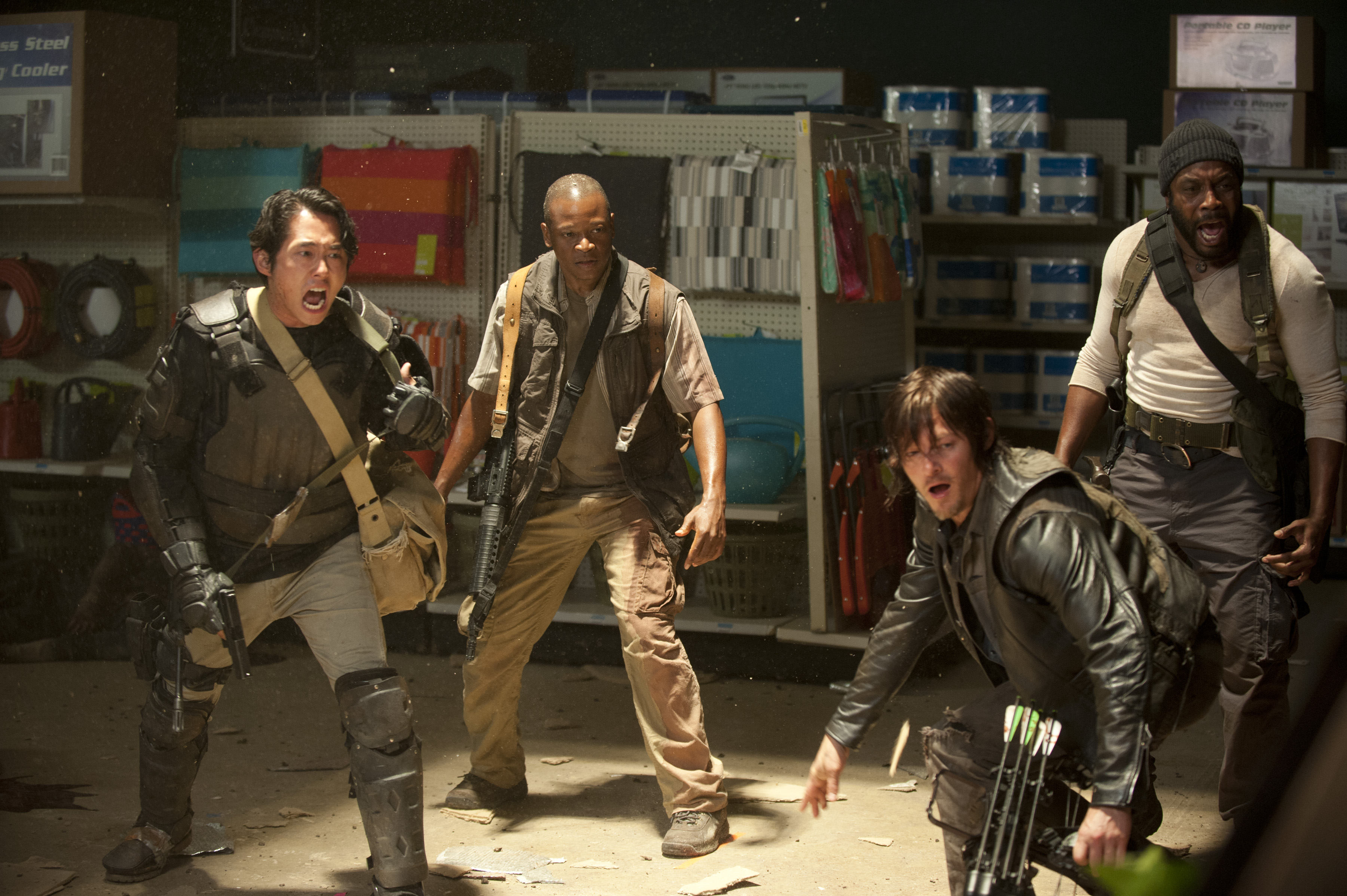 The Walking Dead' — The Latest Pics From Season 4   Access