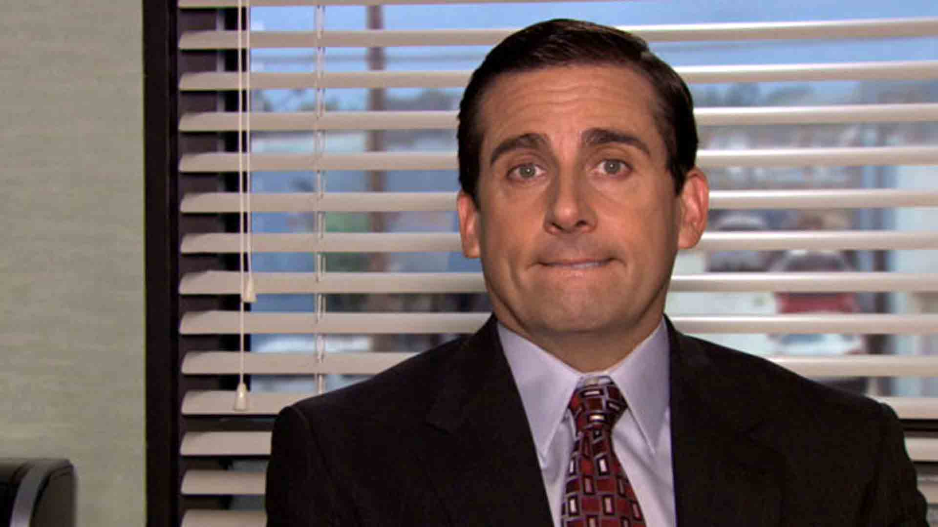 "Steve Carell as Michael in ""The Office"""