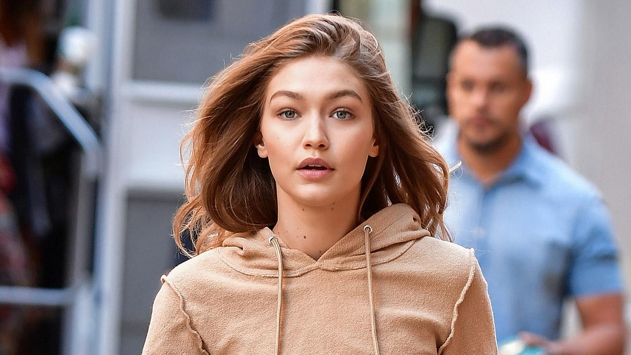 Gigi Hadid seen on the streets of Manhattan