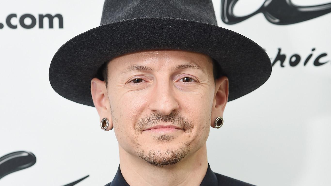 Musician Chester Bennington of the band Linkin Park