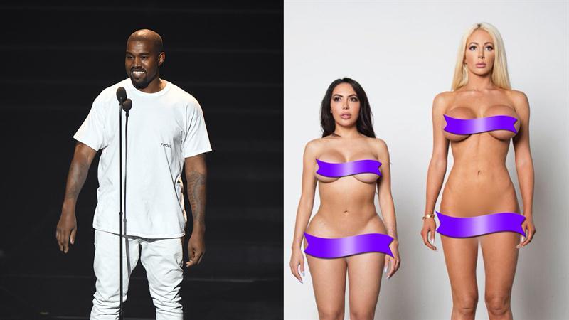 3e3bb07ee62 Kanye West Unveils New Yeezy Campaign With Nude Kim Kardashian Lookalike  Model!
