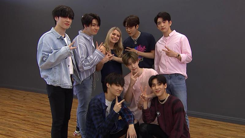GOT7 Gives A K-Pop Dance Tutorial & Rave About Their Fans! | Access