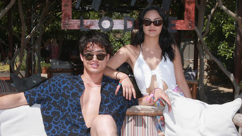 'Riverdale's' Charles Melton and Camila Mendes