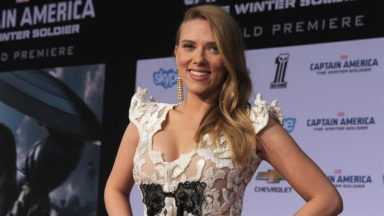 5eea42c58d ... She Wins Big At 2018 People s. Scarlett Johansson Sizzles In A Corset-Style  Top As… Scarlett Johansson Scores Equal Pay With  15 Million For  Black ...
