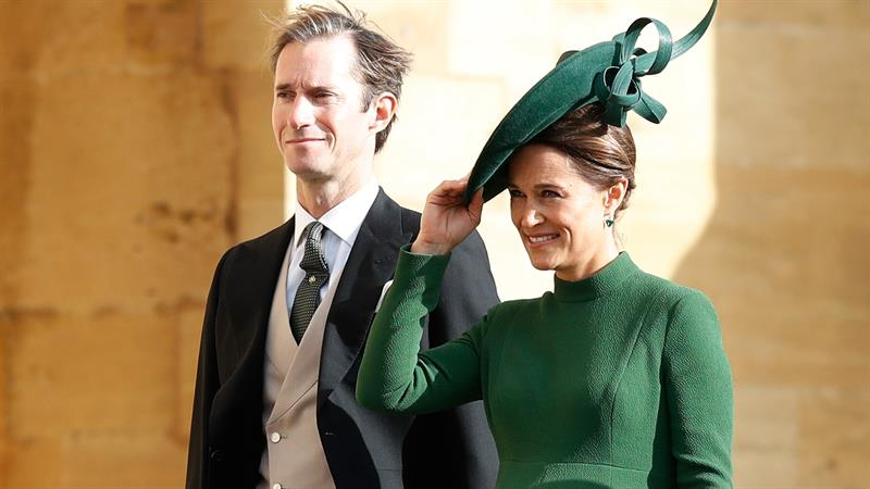 Pippa Middleton Welcomes Her First Child With Hubby James Matthews