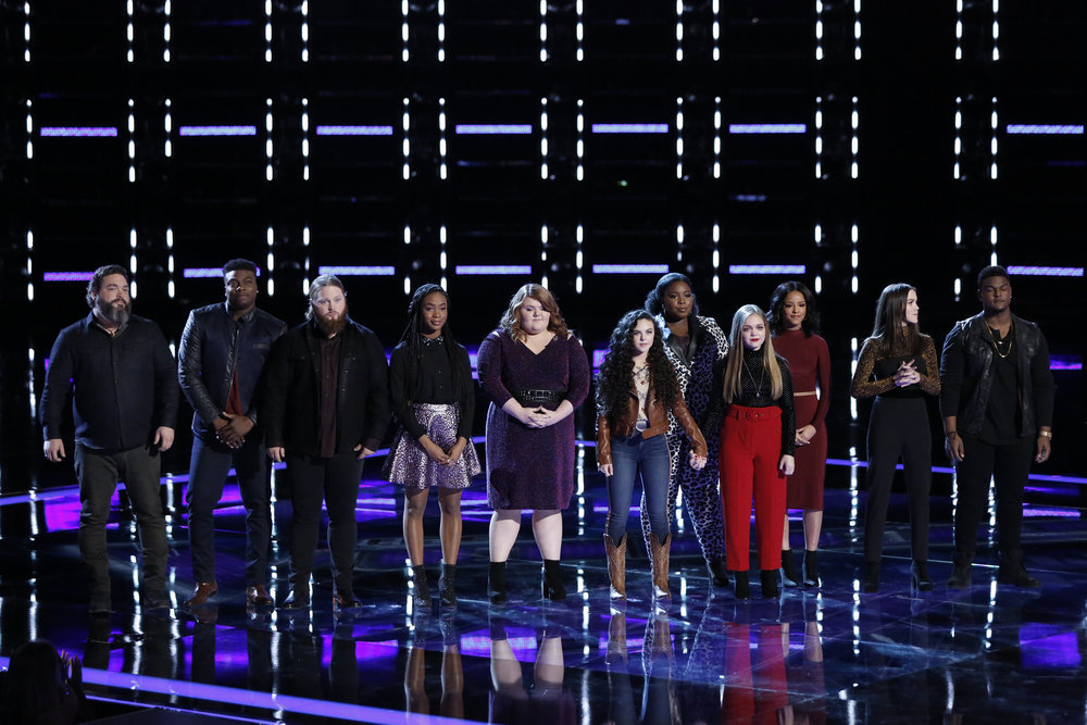 Contestants from THE VOICE