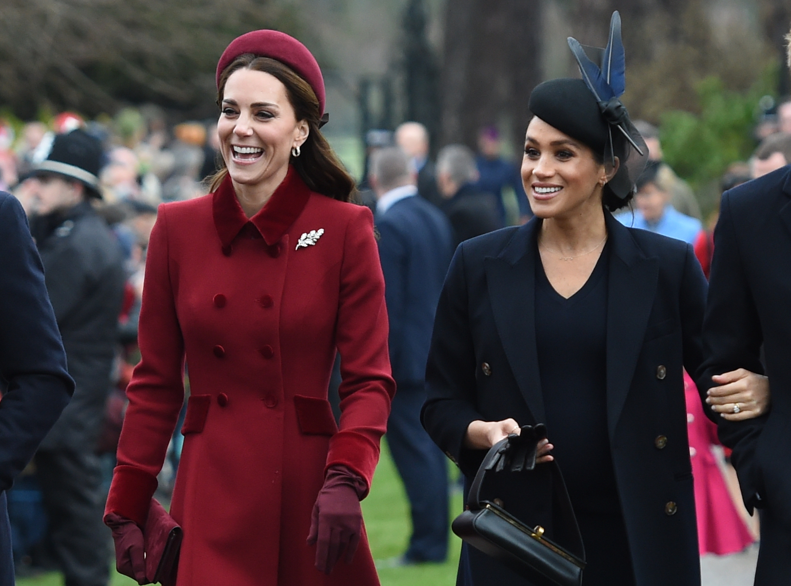 Meghan Markle Amp Kate Middleton Are All Smiles At Christmas