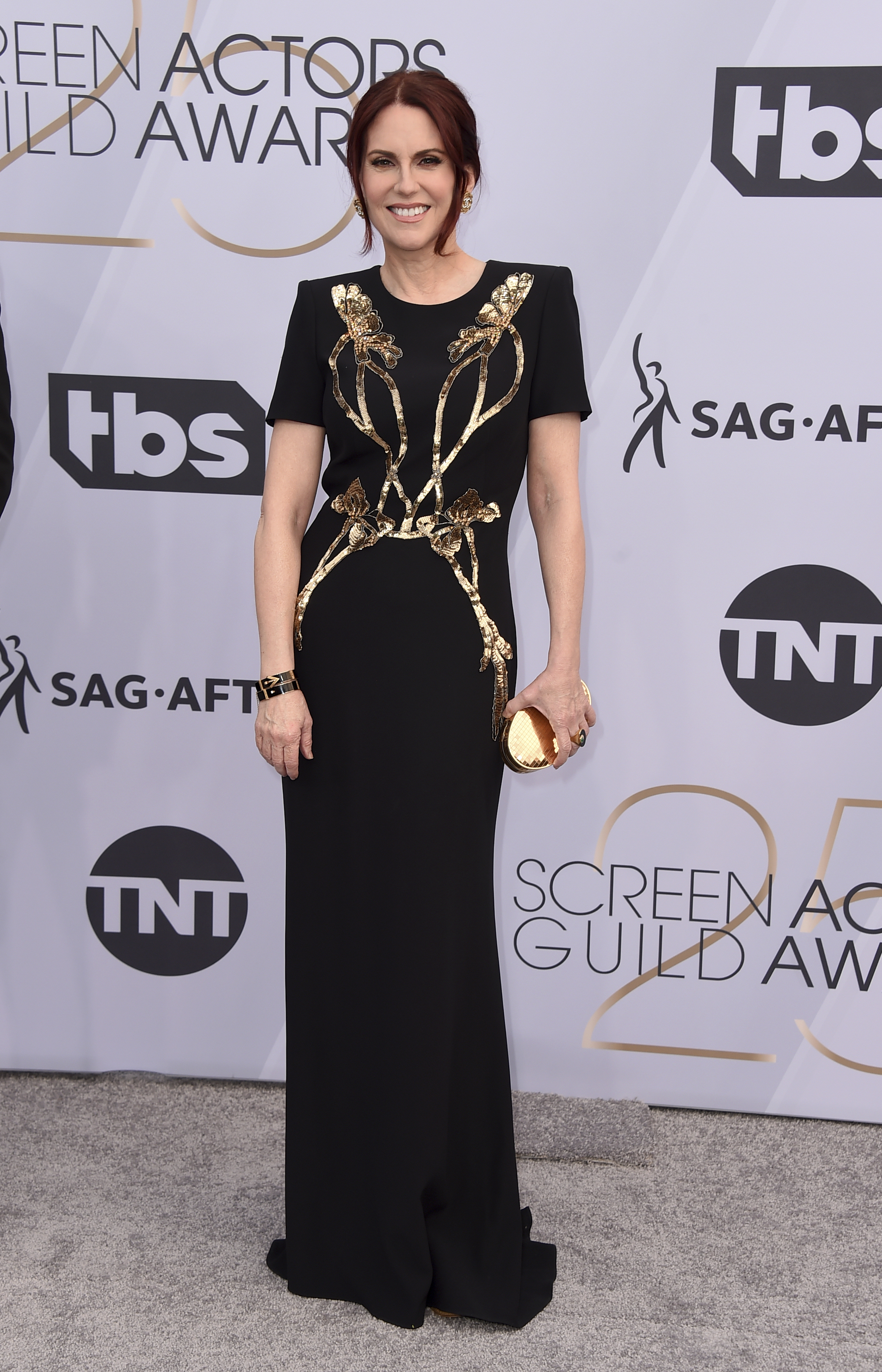 Megan Mullally arrives at the 25th annual Screen Actors Guild Awards