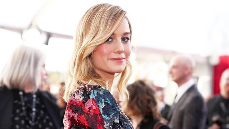 Brie Larson Rocks Barbie-Esque Gown To 'Avengers' Fan Event In Seoul
