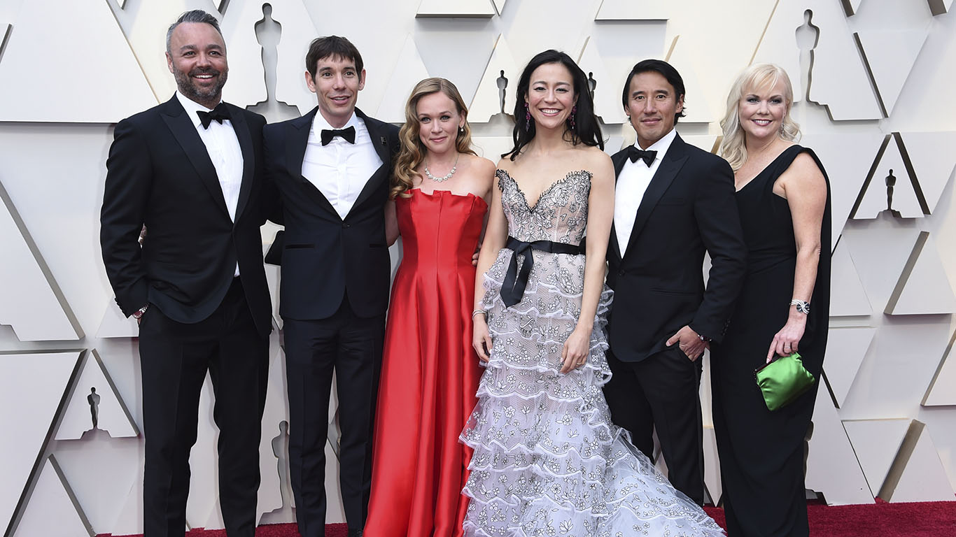 Alex Honnold Met Taylor Swift Pre-Oscars And You'll Never Guess What
