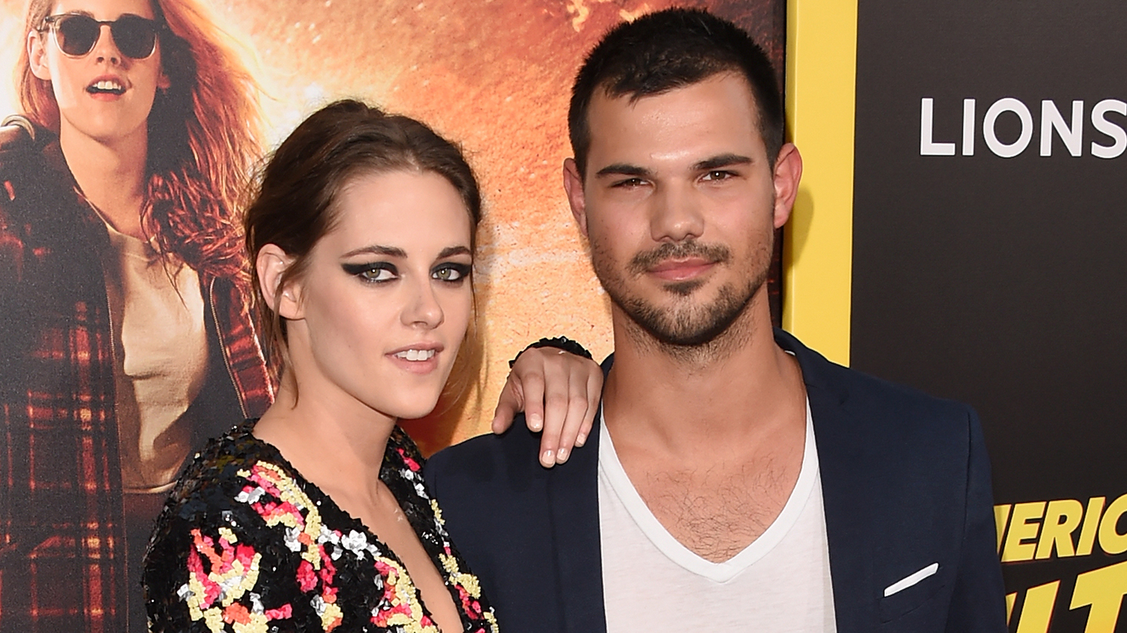 Kristen Stewart & Taylor Lautner Have A Mini 'Twilight ...