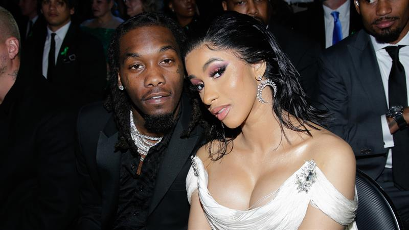 Cardi B & Offset Look Loved Up On Easter Together!