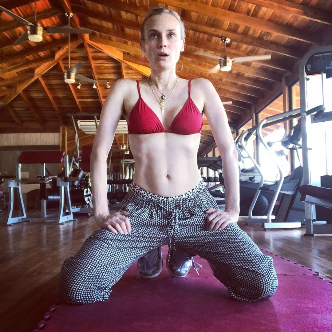 70c96a5fc8 Diane Kruger Shows Off Her Post Baby Body Four Months After Giving ...