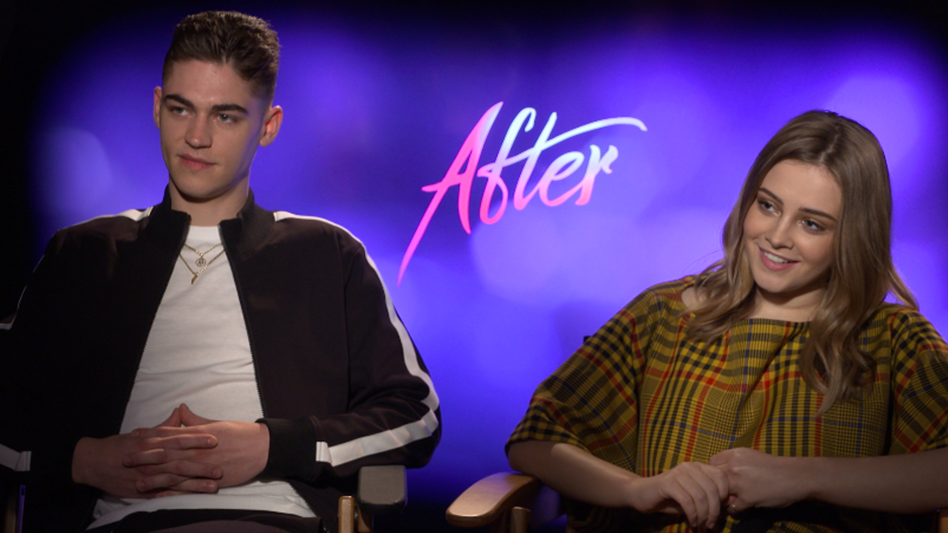 After Hero Fiennes Tiffin Amp Josephine Langford Reveal