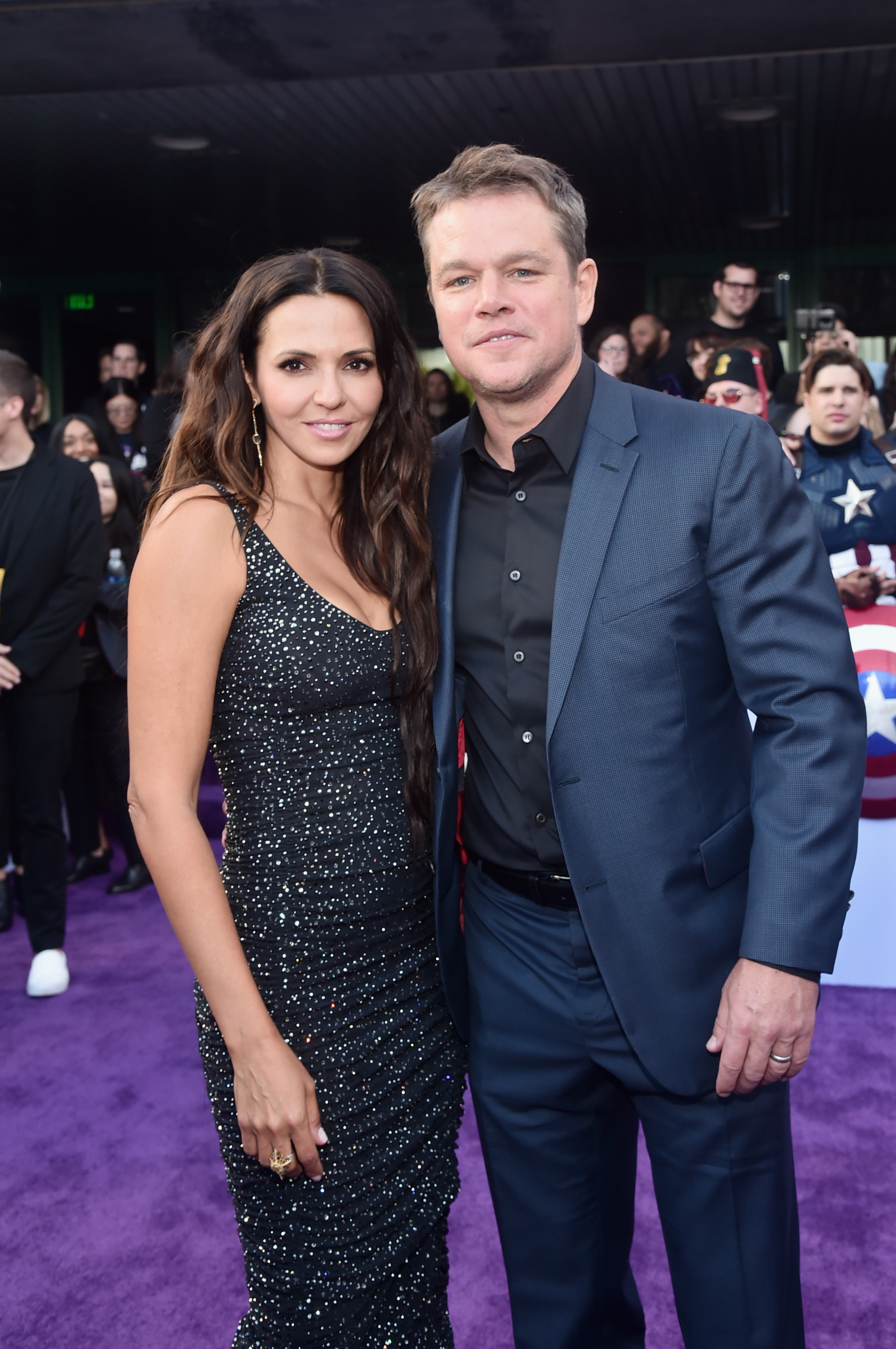 Matt Damon's Wife Luciana Totally Upstages Him At ...