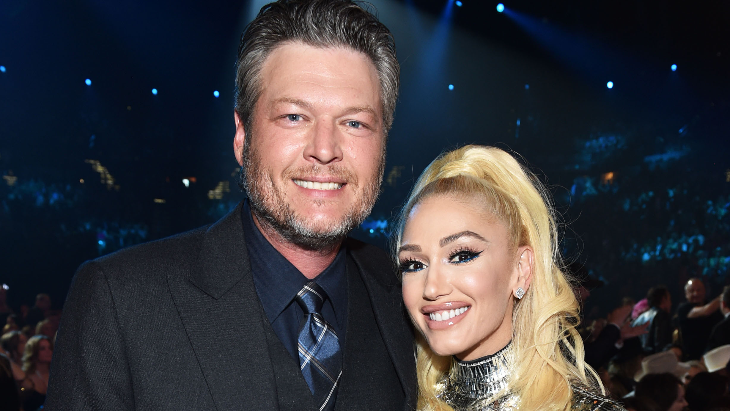 Gwen Stefani Totally Rocks Out To Blake Shelton At The