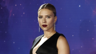 0b4f2a7423 Scarlett Johansson Sizzles In A Corset-Style Top As She Wins Big At ...