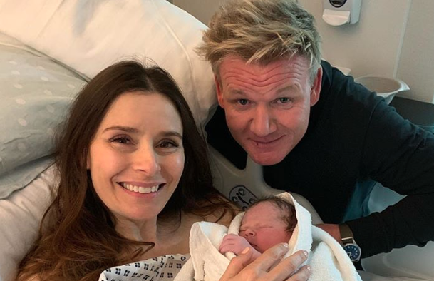 Gordon Ramsay is now a father of five