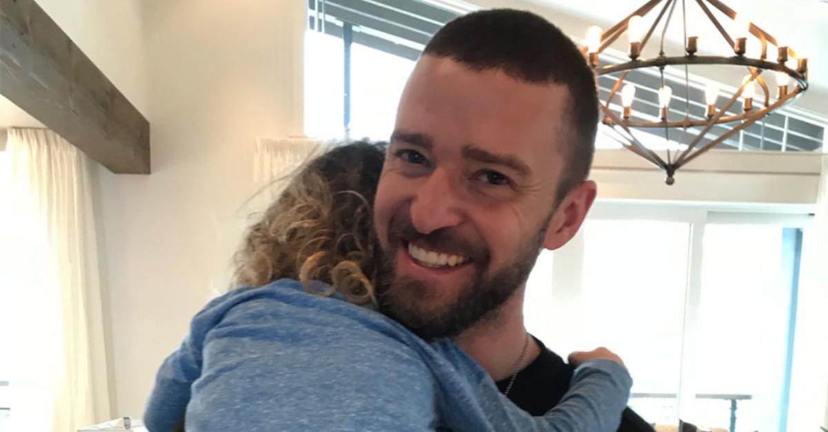 Justin Timberlake and son Silas