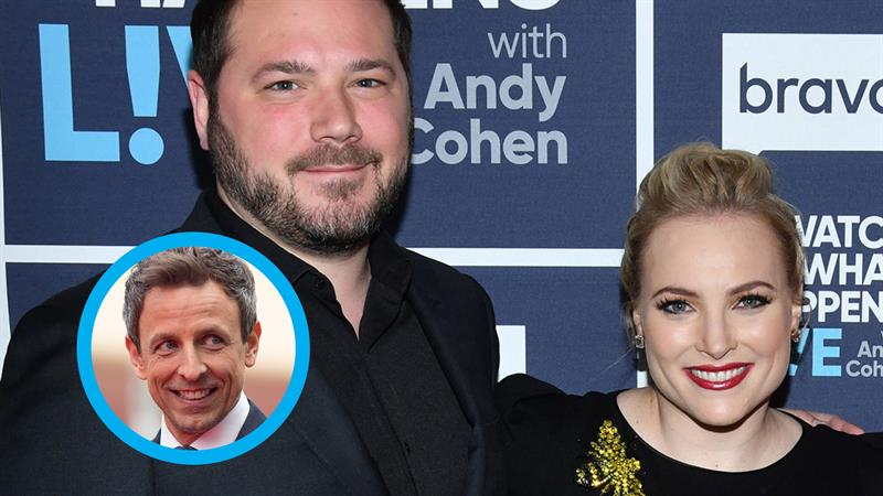Meghan McCain's Husband Apologizes For Calling Seth Meyers An 'Untalented  Piece Of S**t' | Access
