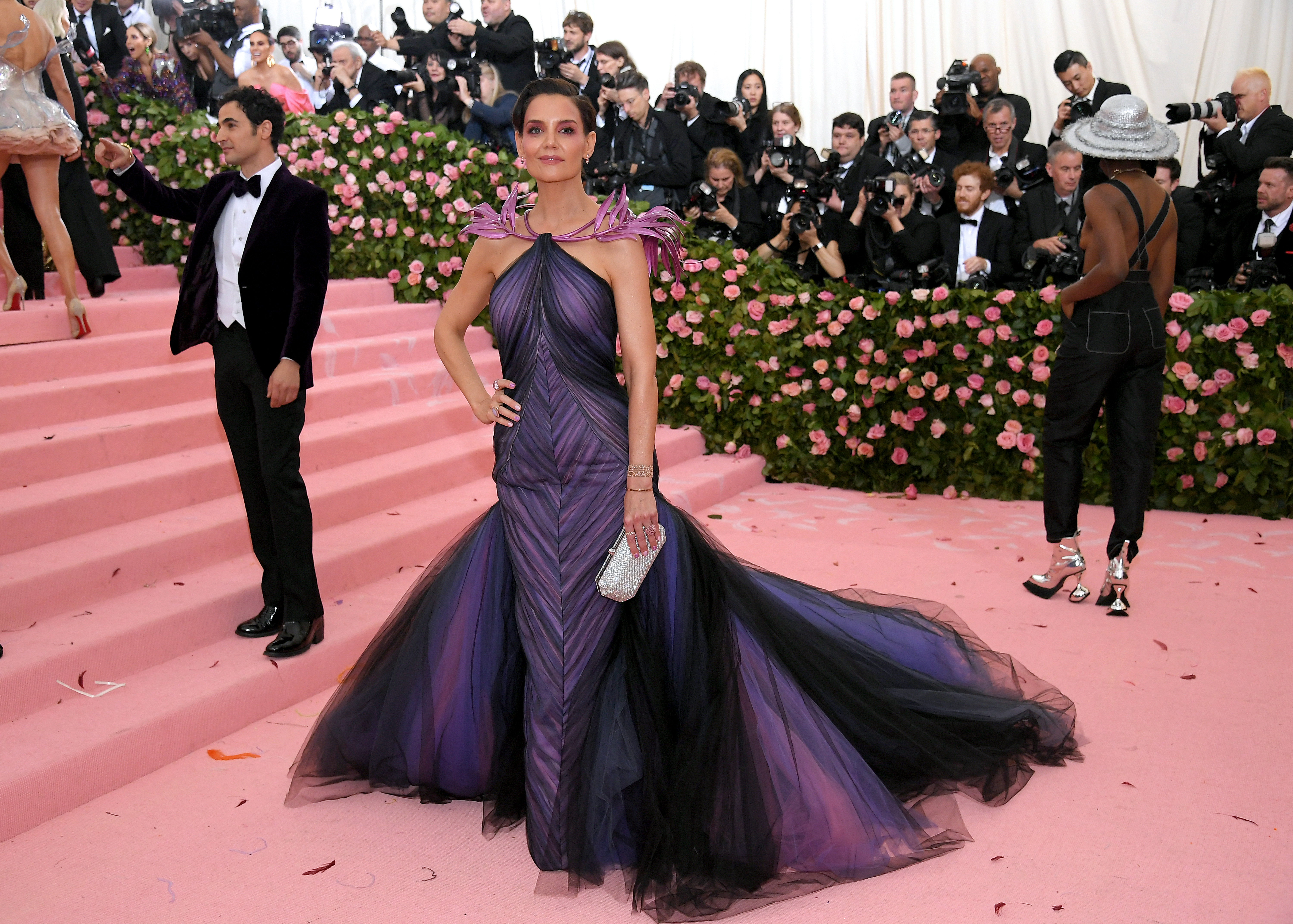 Jamie Foxx & Katie Holmes Just Made Their Relationship Met Gala Official