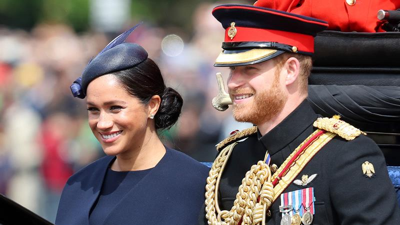 Meghan Markle Shines At Trooping The Colour In First Royal Event Since  Welcoming Baby Archie | Access
