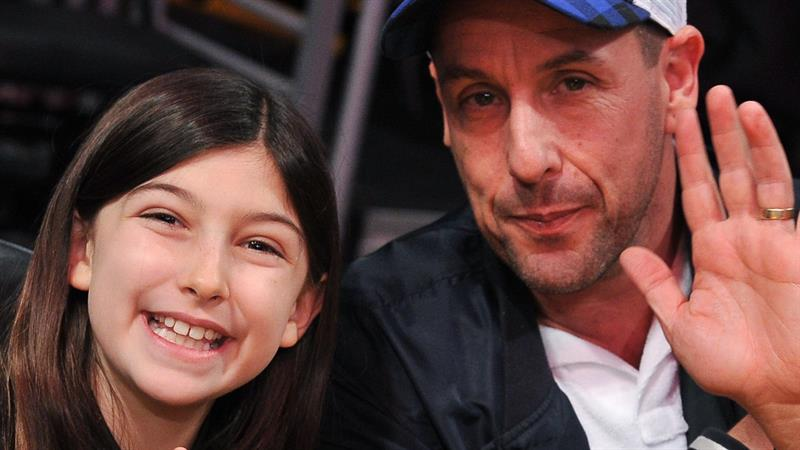 Adam Sandler's 10-Year-Old Daughter Steals Show with Incredible Voice    Access