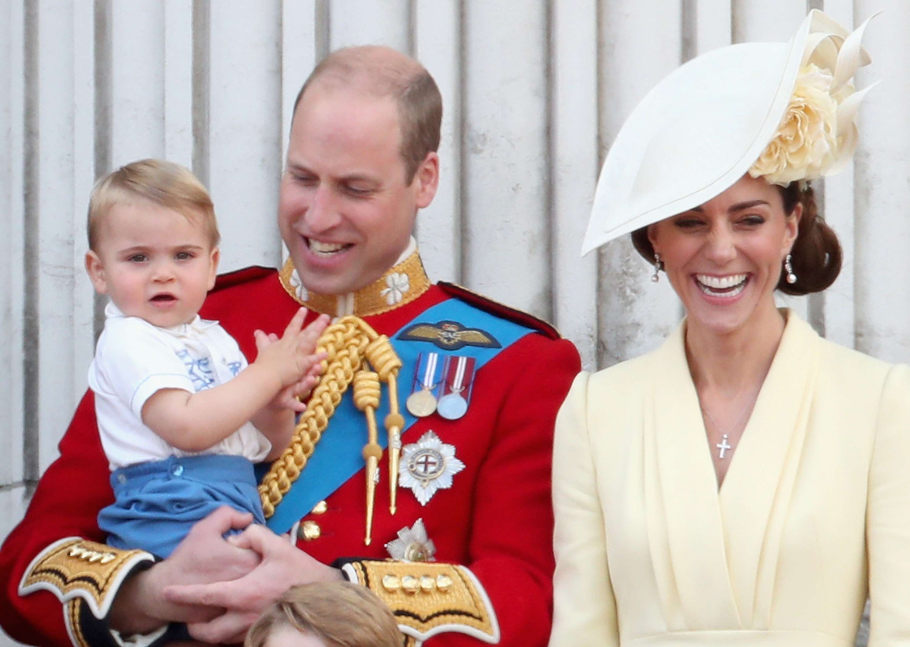Prince Louis' First Trooping The Colour Outfit Was A Sweet