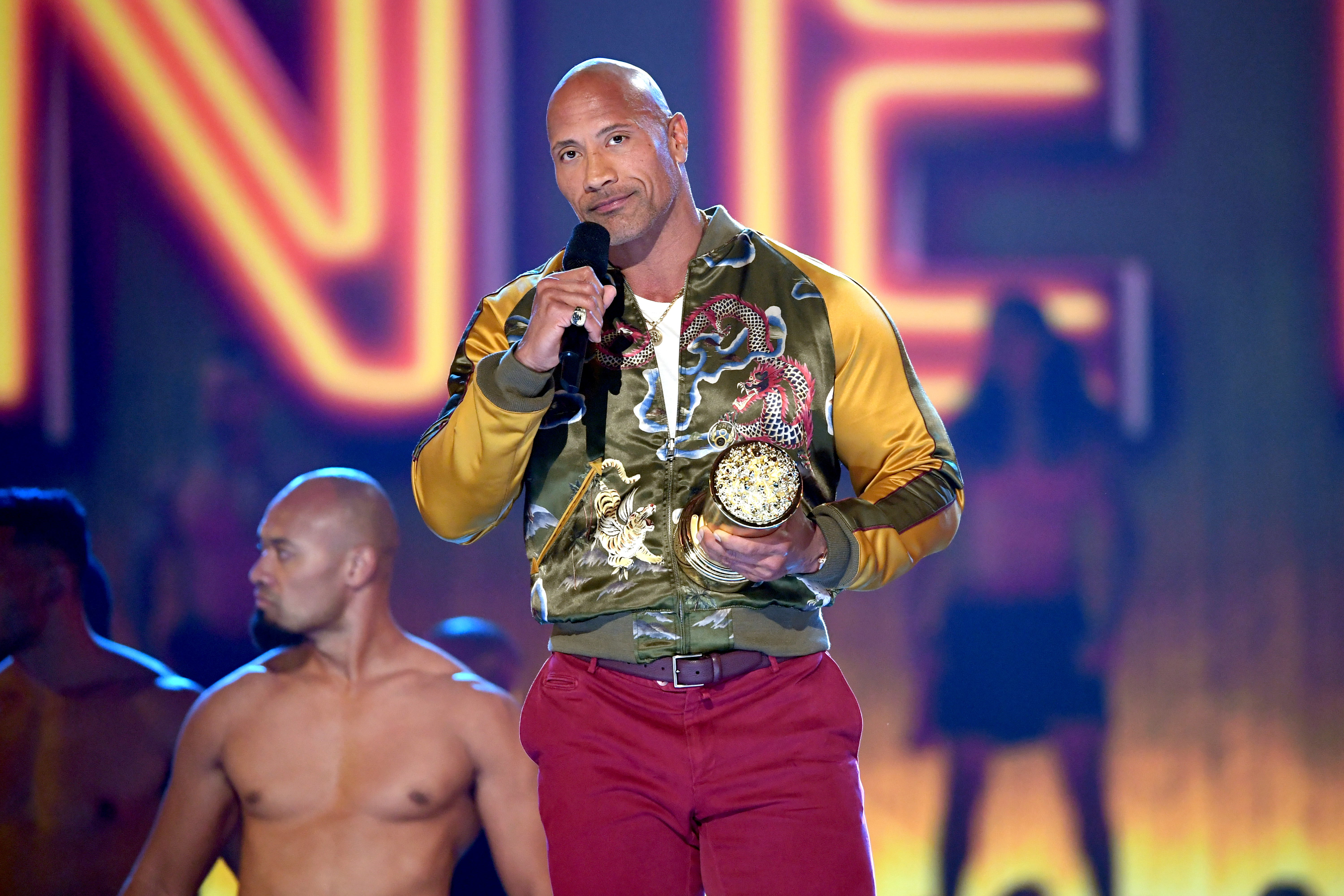 Dwayne 'The Rock' Johnson at the MTV Movie & TV Awards