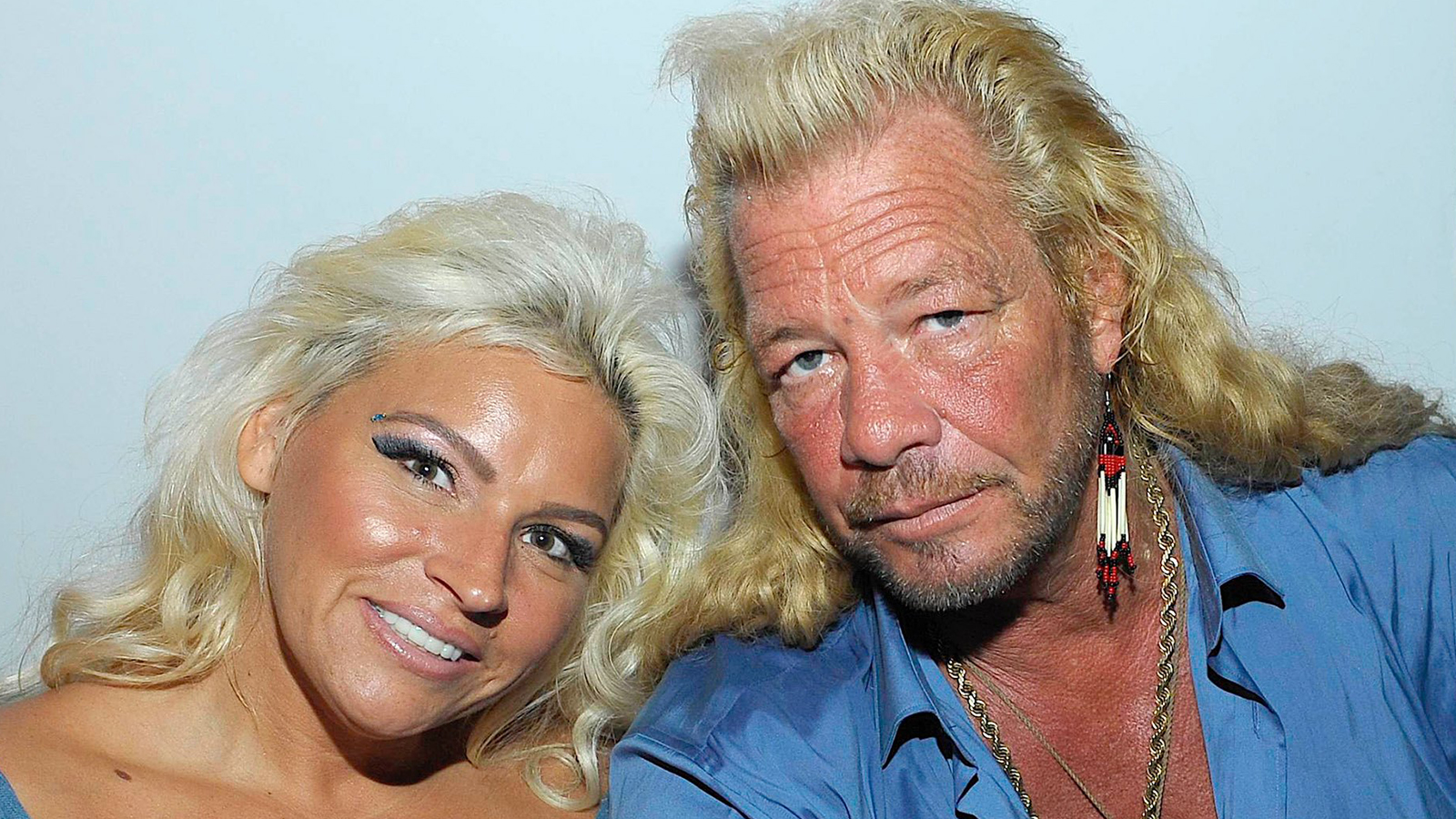 Duane 'Dog' Chapman Fights Back Tears During Eulogy For Wife