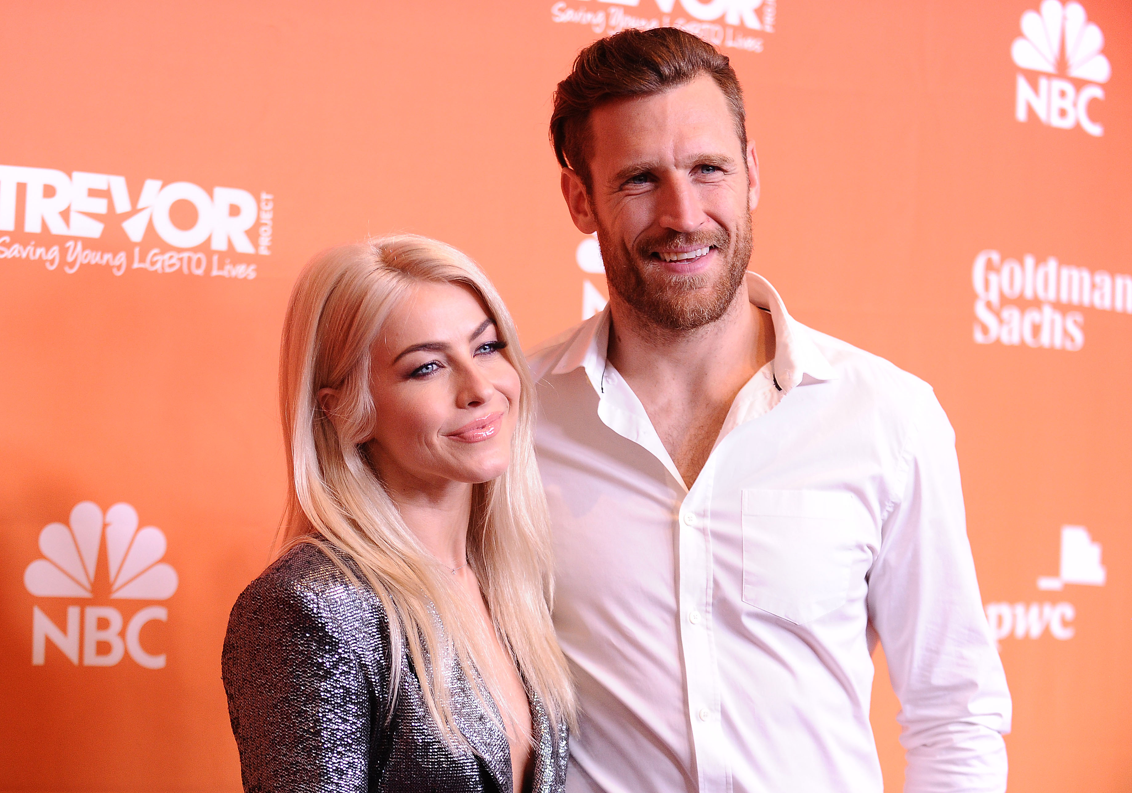 BEVERLY HILLS, CA - DECEMBER 03: Actress Julianne Hough and husband Brooks Laich attend The Trevor Project's 2017 TrevorLIVE LA at The Beverly Hilton Hotel on December 3, 2017 in Beverly Hills, California. (Photo by Jason LaVeris/FilmMagic)