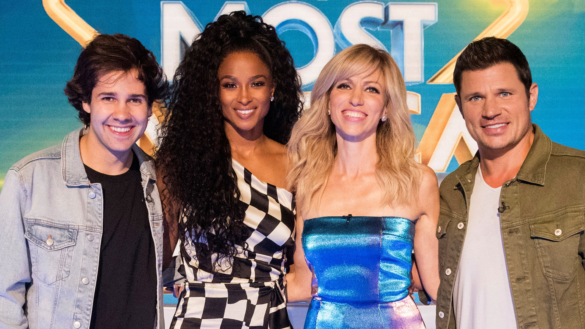 "David Dobrik, Ciara, Debbie Gibson and Nick Lachey on Nickelodeon's ""America's Most Musical Family"""