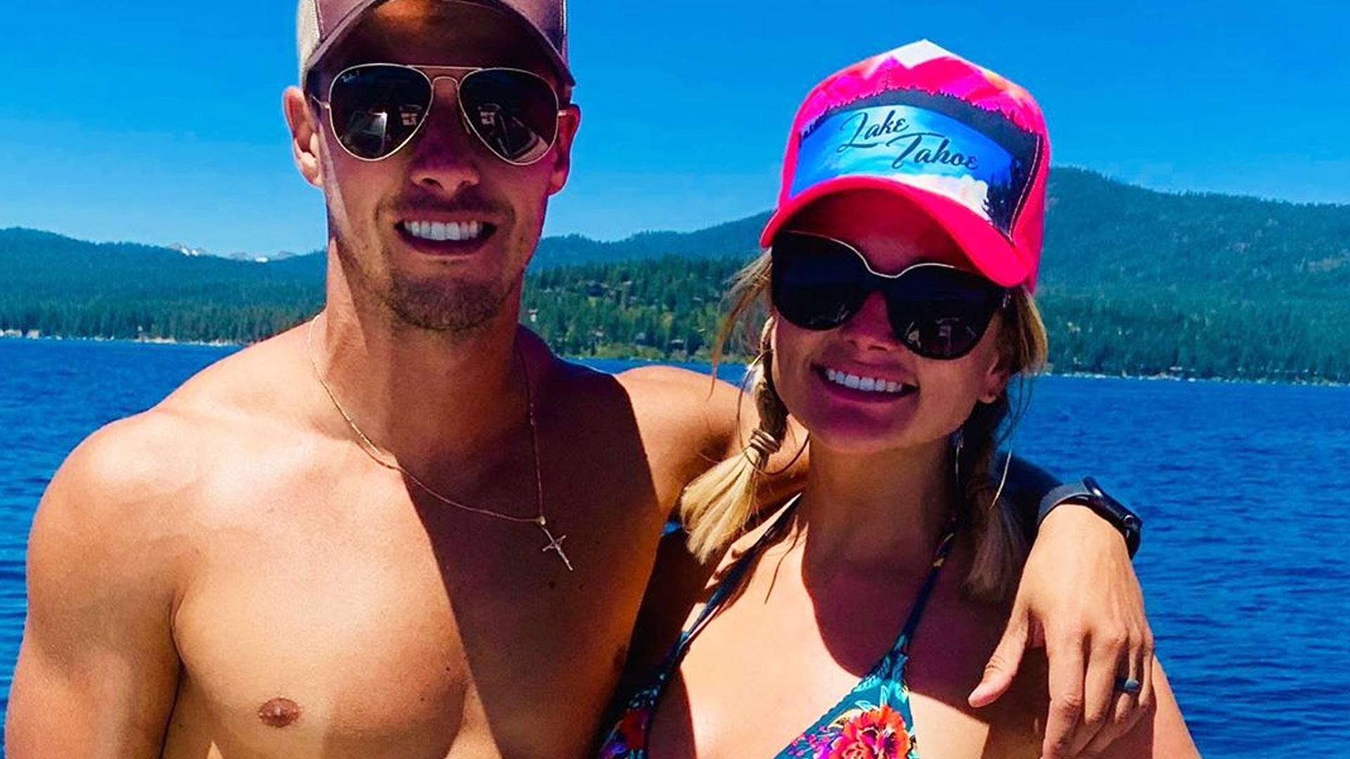 Miranda Lambert Poses In Bikini With Shirtless Husband