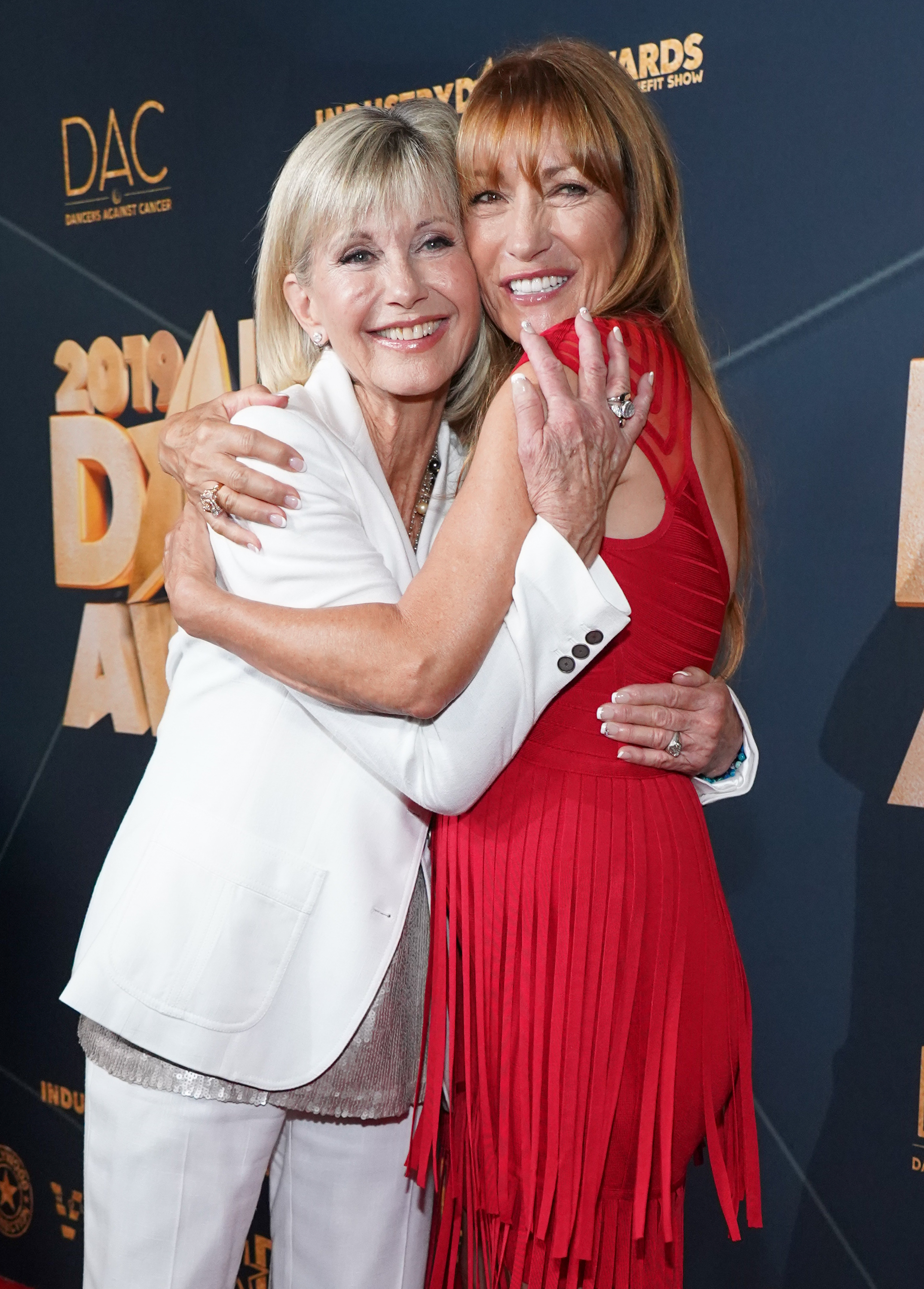Olivia Newton-John and Jane Seymour