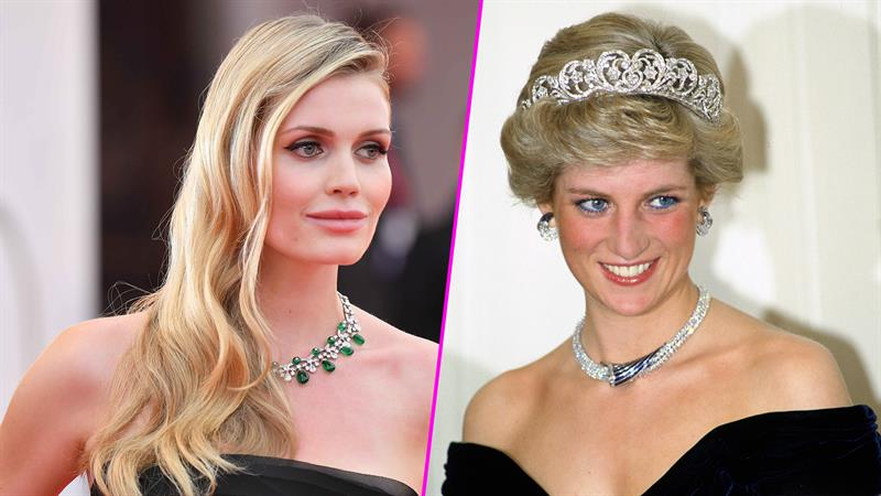 Lady Kitty Spencer Channels Late Aunt Princess Diana In