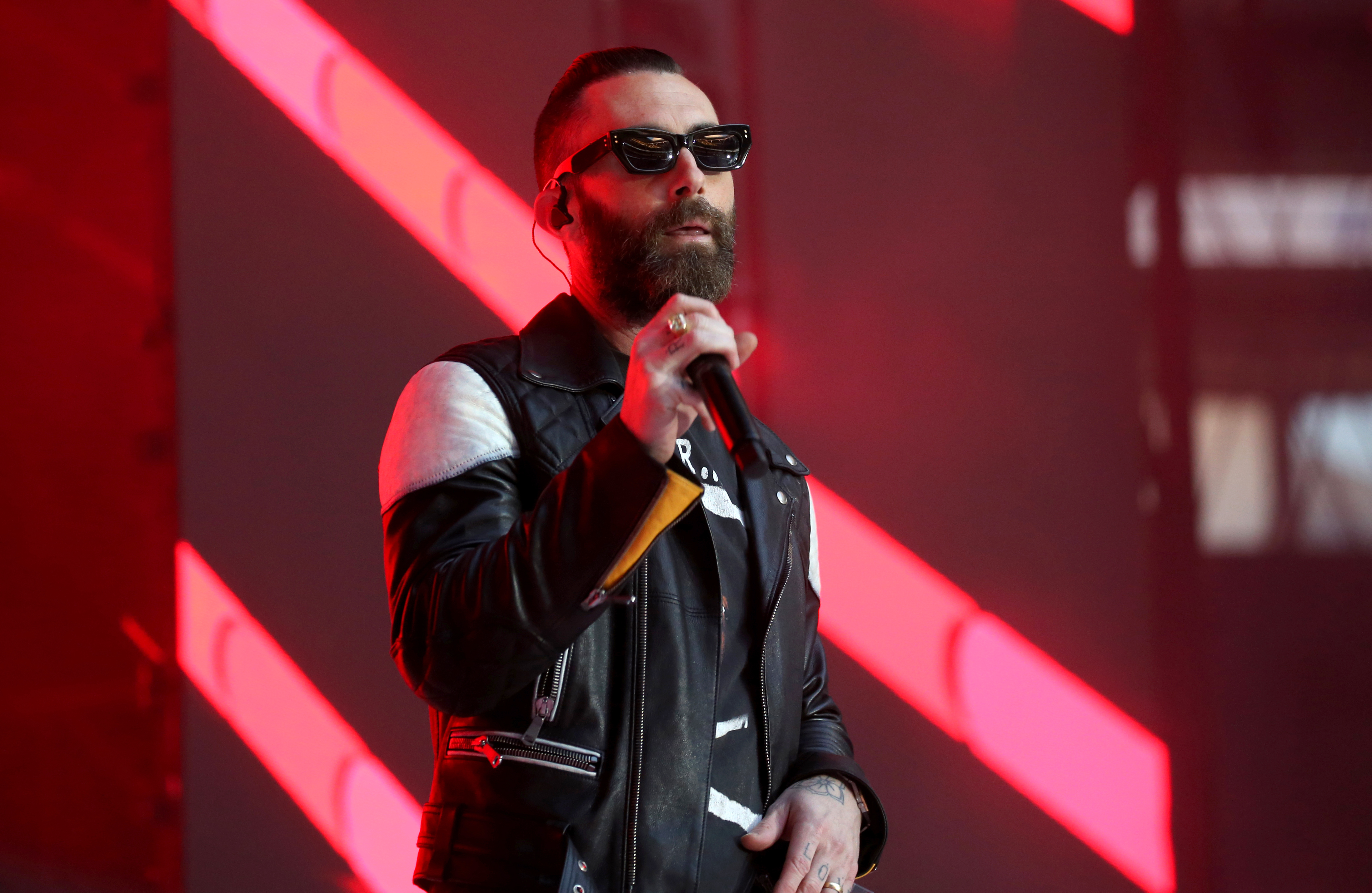 Adam Levine Gets Blasted By Social Media Over Corn Hawk