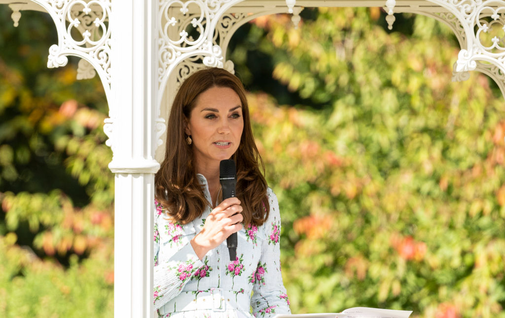 The Duchess Of Cambridge Attends